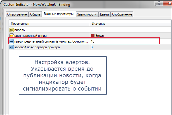 Индикатор NewsWatcher